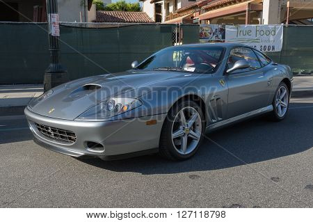 Ferrari 550 Maranello On Display