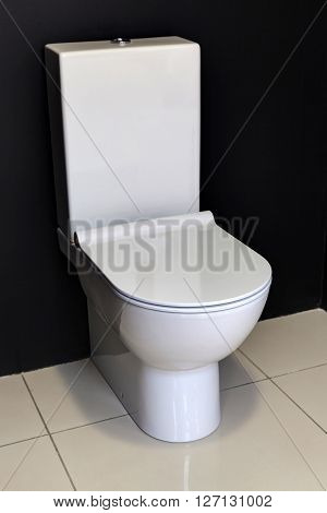 White Modern Toilet Bowl