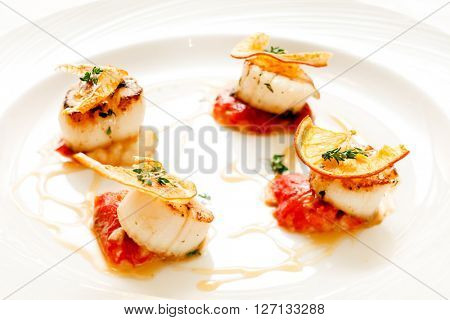 roasted scallop
