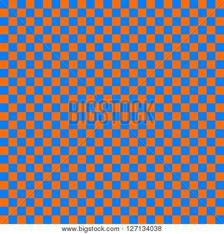 cloth seamless pattern orange and blue vector illustration