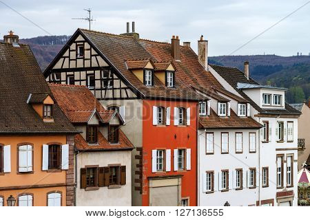 Old City Of Saverne Street View
