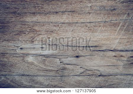 Old Wood Board Weathered With Rough Grain Surface Texture Background