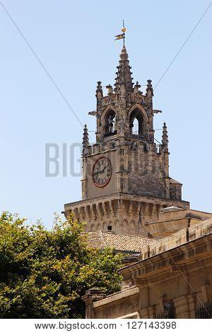 The city church of Avignon in France