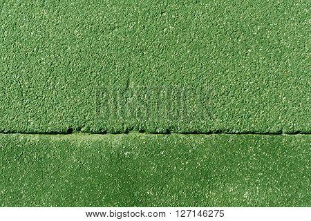 Green Asphalt Surface.
