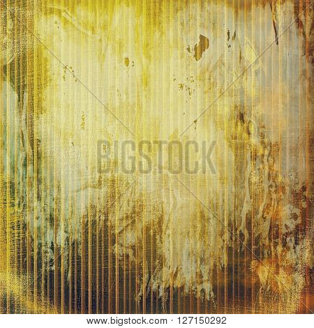 Vintage background texture, antique style composition for your design. With different color patterns: yellow (beige); brown; green; red (orange); gray