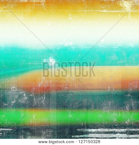 Old crumpled grunge background or ancient texture. With different color patterns: yellow (beige); green; blue; red (orange); black; white
