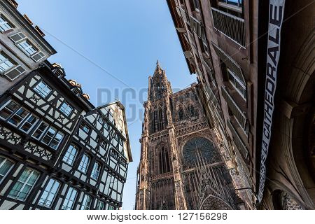 Strasbourg, France - November 5, 2015
