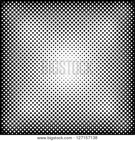 vector dotted halftone raster background