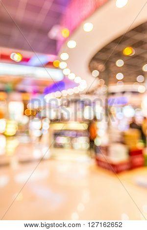 Abstrast Blurred background : shopping mall