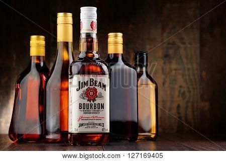 Bottle Of Jim Beam Bourbon
