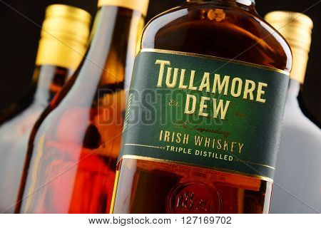 Bottle Of Tullamore Dew, Irish Whiskey