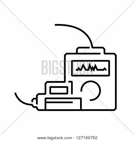 line icon Medical Device Icon cpr icon vector design EPS10.