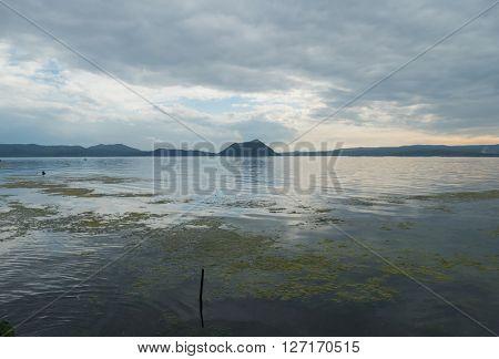 Beautiful Taal lake
