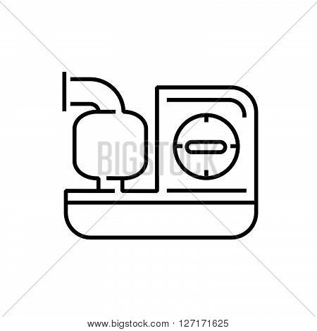 line icon Medical Device Icon Inhaler machines