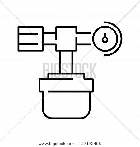 line icon Medical Device Icon oxygen cylinder