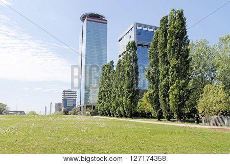modern architecture in Brescia in northern Italy