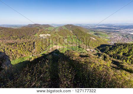 View Of Mountain Wasserflueh, Switzerland