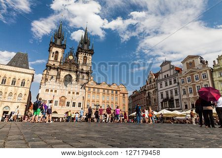 View Of The City Of Prague In Czech Republic