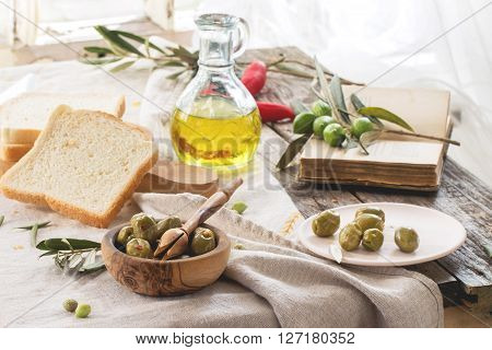 Lunch With Olives
