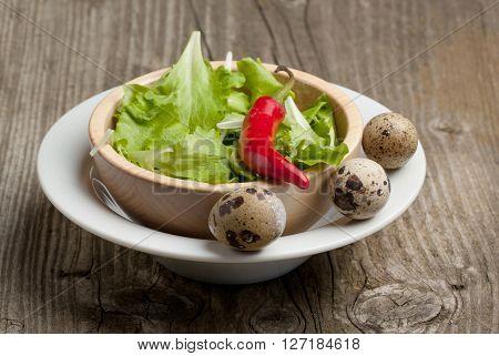 Bowl Of Green Salad