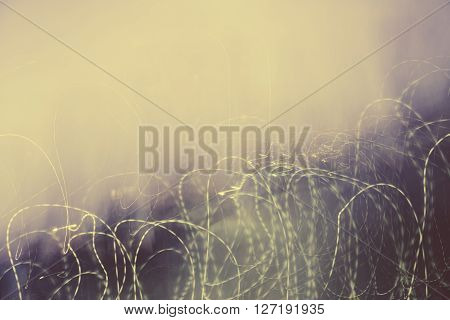 Abstract blured gray photo with chaotic thin lines. Design background.
