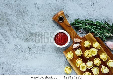 Homemade Raw Italian Tortellini