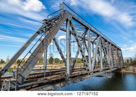 Bridge In Chernobyl, Ukraine