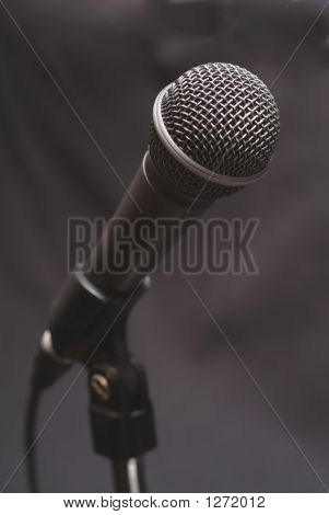 Mic On Stand 2