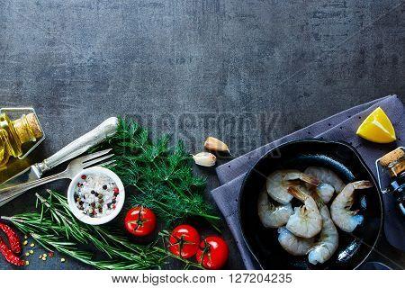 Preparing Fresh Seafood