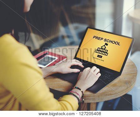 Prep School Education Preparation Academy Concept