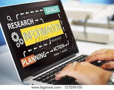 Information Research Planning Action Goals Concept