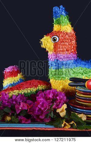 Cinco De Mayo Party Table.