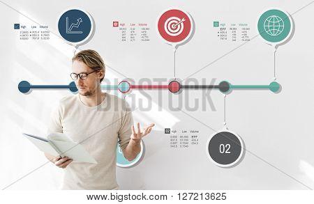 Analysis Data Diagram Infographic Information Concept