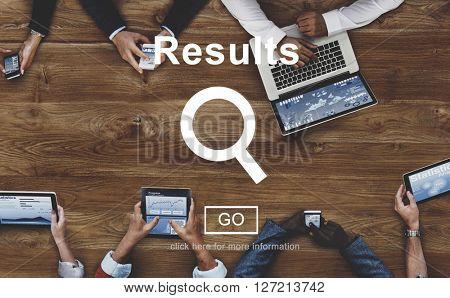 Results Outcome Effect Productivity Assessment Achievement Concept