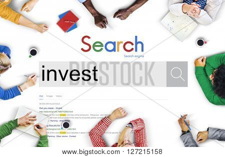 Invest Investment Profit Revenue Economy Concept