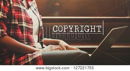 Copyright Trademark Identity Brand Concept