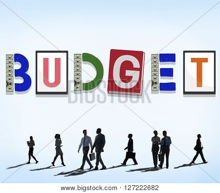 Budget Savings Banking Money Finance Concept
