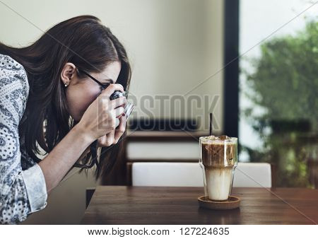 Photographer Photography Photograph Coffee Concept