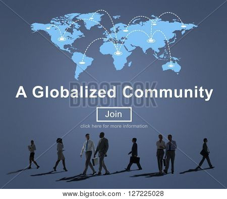A Globalized Community Social Networking Society Concept