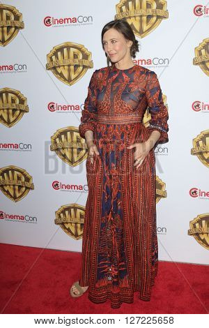 LAS VEGAS - APR 12:  Vera Farmiga at the Warner Bros. Pictures Presentation at CinemaCon at the Caesars Palace on April 12, 2016 in Las Vegas, CA