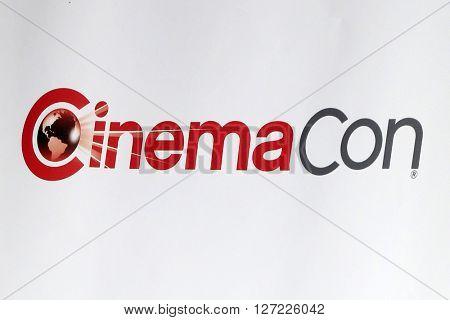 LAS VEGAS - APR 14:  CinemaCon Emblem at the CinemaCon Awards Gala at the Caesars Palace on April 14, 2016 in Las Vegas, CA