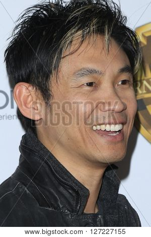 LAS VEGAS - APR 12:  James Wan at the Warner Bros. Pictures Presentation at CinemaCon at the Caesars Palace on April 12, 2016 in Las Vegas, CA