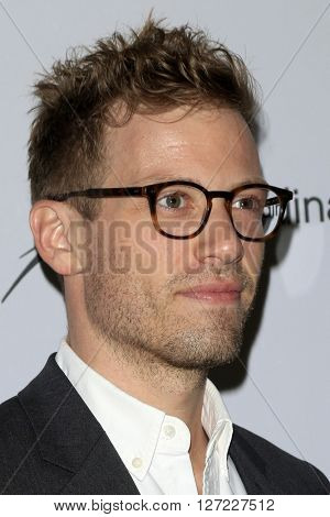 LAS VEGAS - APR 20:  Barrett Foa at the Extraordinary Families Gala at the Beverly Hilton Hotel on April 20, 2016 in Beverly Hills, CA
