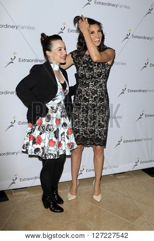 LAS VEGAS - APR 20:  Renee Felice Smith, Daniela Ruah at the Extraordinary Families Gala at the Beverly Hilton Hotel on April 20, 2016 in Beverly Hills, CA