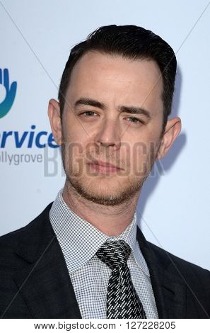 LAS VEGAS - APR 20:  Colin Hanks at the Norma Jean Gala benefitting Hollygrove at the Taglyan Complex on April 20, 2016 in Los Angeles, CA