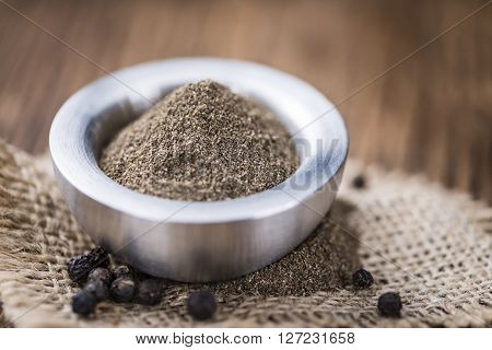 Portion Ob Milled Black Pepper