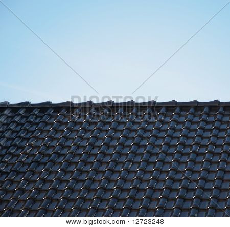 black roof top