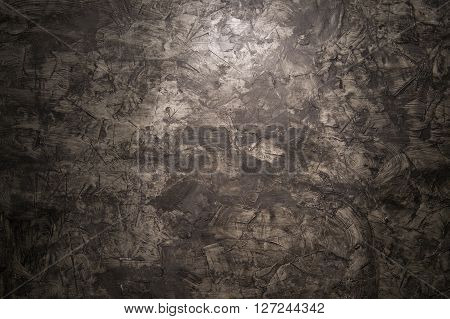 Abstract beauty grunge background. black Venetian plaster