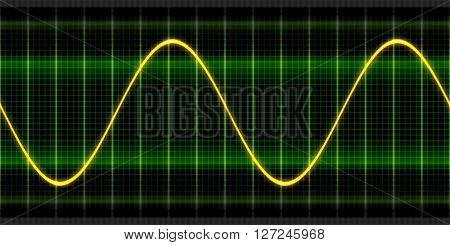 Texture wave sine digital oscilloscope backgrounds display