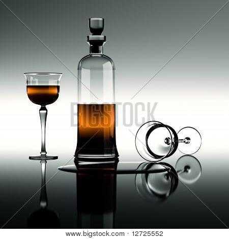 Cognac In A Carafe